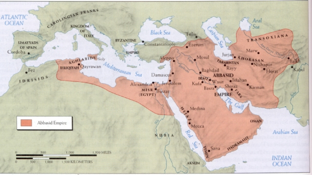 The Abbasid Empire, ca 900 C
